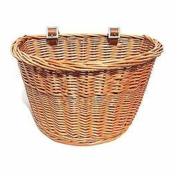 Colorbasket 01433 Junior Front Handlebar Wicker Bike Basket,