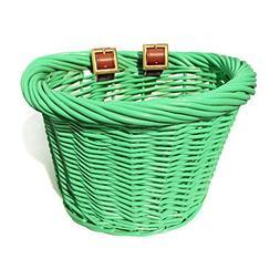 Colorbasket 01457 Junior Front Handlebar Wicker Bike Basket,