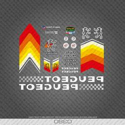 Decals 0381 Peugeot Bicycle Frame Stickers Transfers