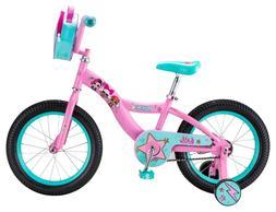 Titan 081-8116 Girls Flower Princess 16 inch BMX Bike - Pink