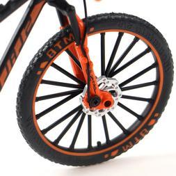 1:10 Alloy Bicycle Model Toy Cross Mountain Bike Racing Cycl