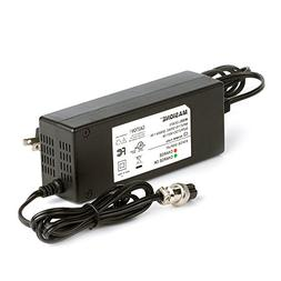 Masione New 36 Volt 1.5A Battery Charger For Electric Scoote