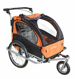 Baby Diego 2-in-1 Double Bike Trailer and Jogger