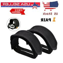 Bicycle Pedal Straps Feet Toe Fixed Clips Adhesive Belt for MTX Bike Gear Straps