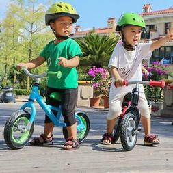 10 inch Children Balance Bike Kids Riding Bicycle Indoor Out