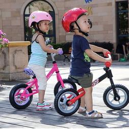 10 inch Children Balance Bike Riding Bicycle No Foot Pedal W