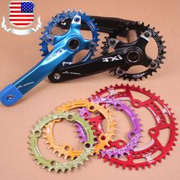 104bcd 30-52t Chainset Crank set Round Oval MTB Road XC AM DH Bike Chainring