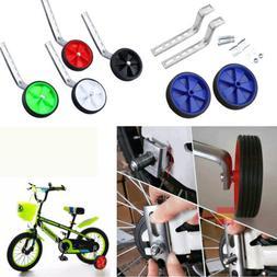 "12-20"" Universal Bicycle Training Wheels Children Bike Side"