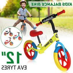 12'' Adjustable Toddler Kid EVA Tyre Balance Bike No Pedal P