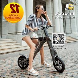 12'' e Bike 36 V Folding Electric Bike For Sale LG Battery 3