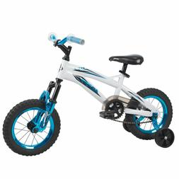 Huffy Kids Boys Girls Bike 12-inch, White or Pink Metaloid N