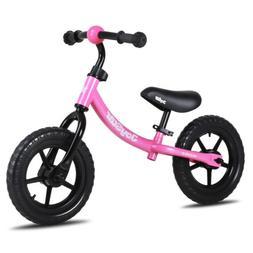 JOYSTAR 12 INCH Kids Balance Bike for 2-5 Year Old - No Peda