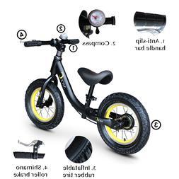"12"" Kids Balance Bike Children Boys & Girls with Brakes and"