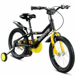 "12"" Kids Bicycle Outdoor Sports Bike W/ Training Wheel Brake"