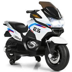 12V Kids Ride On Motorcycle Electric Motor Bike w/ Training