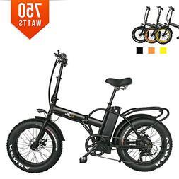 Bpmimports 750 watts 13AH BAFANG MOTOR Fat Tire Electric bik