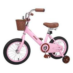 Forest Princess Kids Bicycles Girls Bike Foot Break