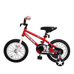 JOYSTAR 14'' Kids Bike with Training Wheel for 3 4 5 Years B