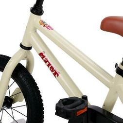 14 Inch Kids Bike Steel Sticker Bicycle with Detachable Trai