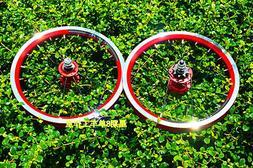 """14"""" inch rim bike wheel set bicycle 412 20 Hole wheels Clinc"""