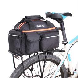 15L Cycling Bicycle Bike Rear Seat Rack Storage Trunk Bag Po