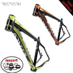 """16/17/18"""" Ultralight Aluminum Mountain Bike Frame 26er Wheel"""