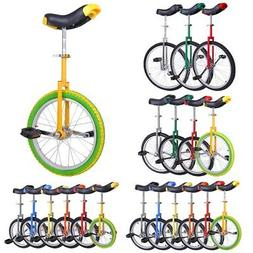 "16 18 20 24"" Unicycle Wheel Balance Uni Cycle Fun Bike Fitne"