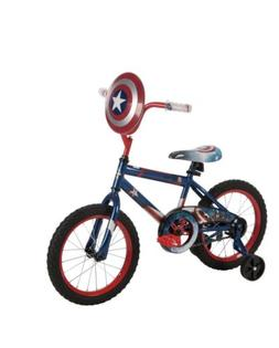 "16"" Huffy Boys' Marvel Captain America Bike"