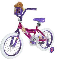 "16"" Girls' Barbie Bike by Dynacraft with Training wheels Kid"