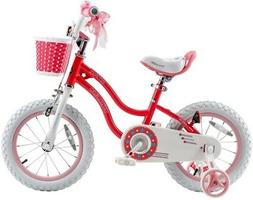 Royalbaby 16 in. Stargirl Girl's Bike with Training Wheels a