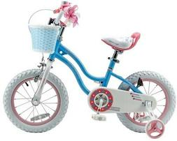 Royalbaby 16 in.Stargirl Girl's Bike with Training Wheels an