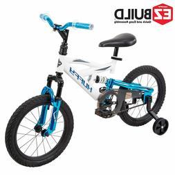 Huffy 16 Inch DS 1600 Boys Bike Kids EZ Build White Bicycle
