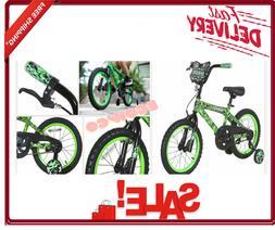 """Dynacraft 16"""" Invader Boys Bike Kids Beginner Training Wheel"""