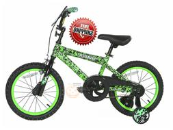 "16"" Kids Bicycle for Boys Girls with Training Wheels Coaster"