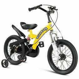 "16"" Kids Bicycle Outdoor Sports Bike W/ Training Wheel Brake"