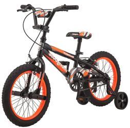 "16"" Mongoose Mutant Boys' Bicycle, Black & Orange"