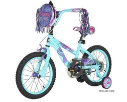 "DYNACRAFT 16"" TWILIGHT TWIST GIRL'S BIKE 8057-48 *DISTRESSED"