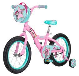 """LOL Surprise 16"""" Wheel Kids Bicycle Youth Girls Bike Pink"""