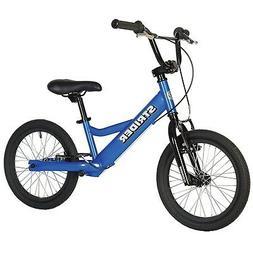 Boy's 16 Sport No-Pedal Balance Bike, Blue
