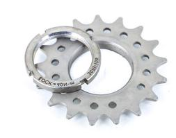 """FIXED GEAR TRACK 13 TOOTH 1//8 INCH 1//8/"""" FIXIE LOCK RING 13T COG /& LOCKRING"""