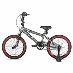 """18"""" Kent, Abyss, FS18, BMX, Boys' Bike, Silver"""