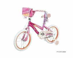 """18"""" Dynacraft Girls Mysterious Bike with Handlebar bag and S"""