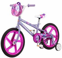 8de6a07e47f 18 Inch Girl s Kids Outdoor Bike Purple .