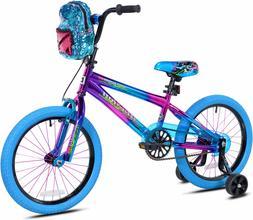 18 inch Girls Bike For Kids Children With Training Wheels Fa