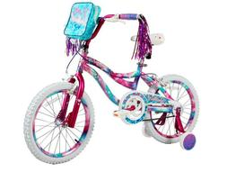 "18"" Kids Bike Girls 18-inch Wheels Bicycle with Training Whe"