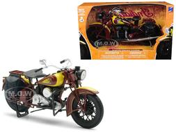 1934 INDIAN SPORT SCOUT BIKE 1/12 DIECAST MOTORCYCLE MODEL B
