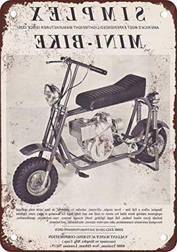 FemiaD 1969 Simplex Mini-Bike Vintage Look Reproduction Meta