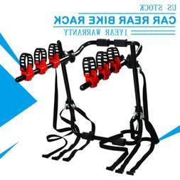 1x 3-Bicycle Rack Bike Hitch Mount Rear Carrier Swing Receiv