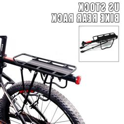 1x Bike Rear Rack Seat Post Pannier Luggage Carrier Bicycle