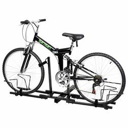 2 Bike Bicycle Carrier Hitch 2'' Receiver  Heavy Duty Mount